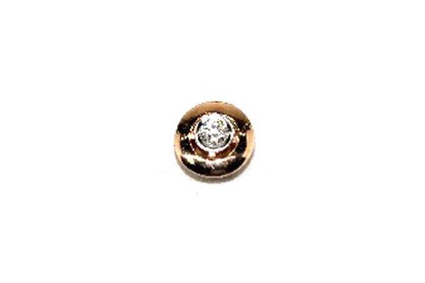 Золотой подвес сбриллиантом