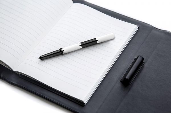 Серебряная ручка без вставок