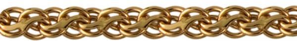 Золотая цепь без вставок
