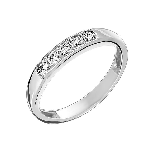 Серебряное кольцо сфианитом