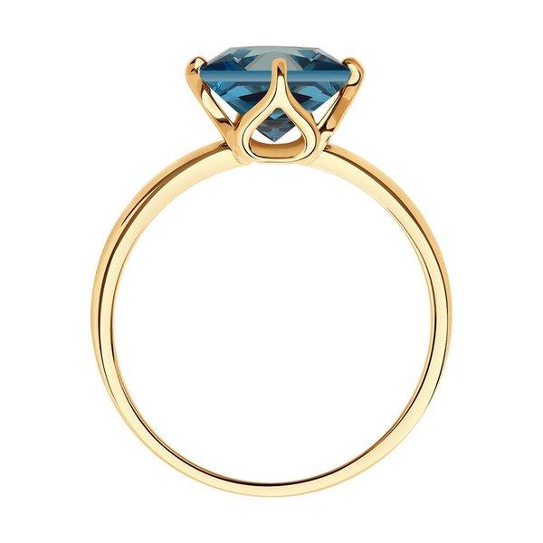 Золотое кольцо стопазом лондон