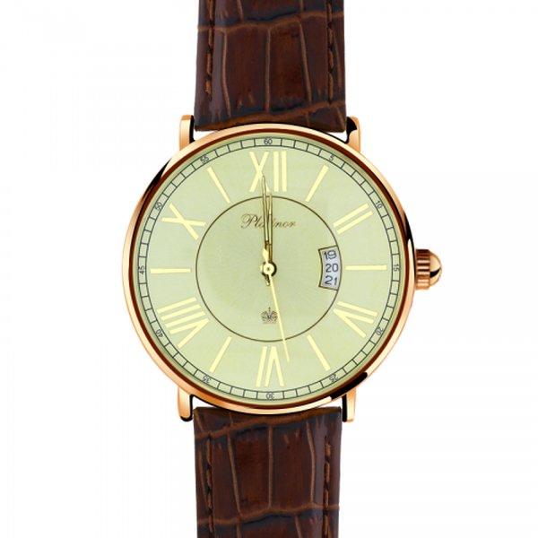 Золотые часы мужские без вставок