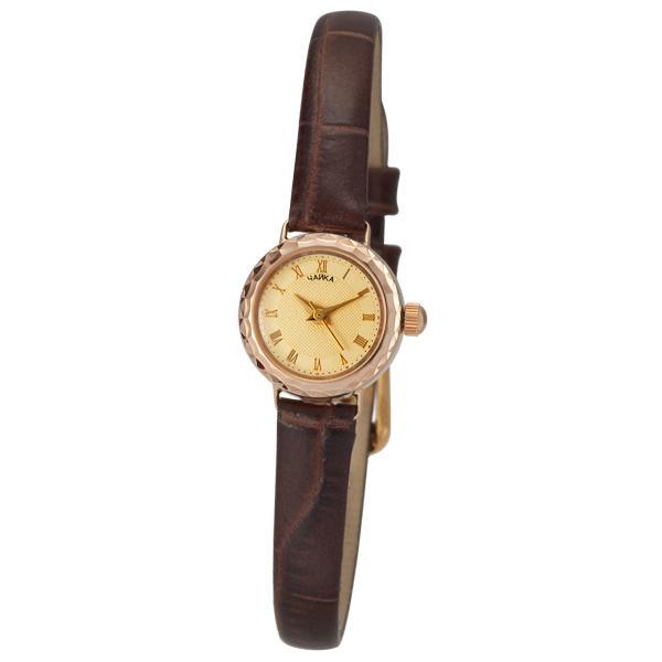 Золотые часы женские без вставок