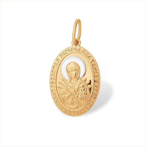 Золотая икона без вставок