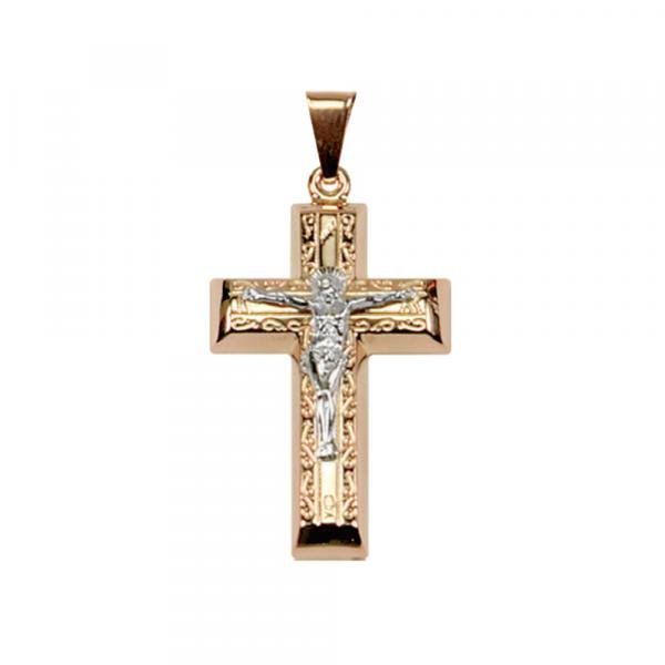 Золотой крест без вставок